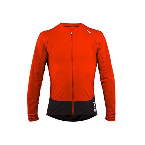 POC Unisex - Erwachsene Trikot Resistance Pro Enduro Ls JERS S Orange (bullvalene orange)