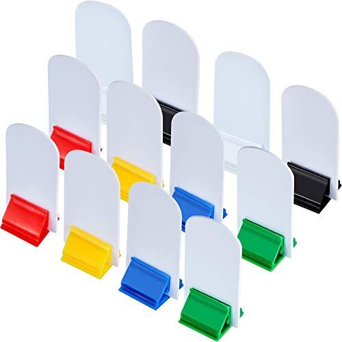 12 Stücke Spielkarten Ständer Mehrfarbig mit 12 Stücke Leeren Brett Spielbrett Markern für Party Gefallen