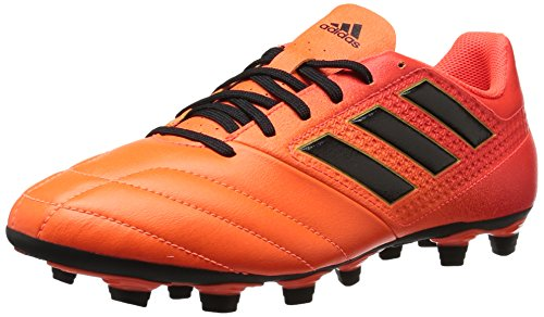 adidas Herren ACE 17.4 FxG, Solar Orange/Schwarz/Solar Red, 42 EU