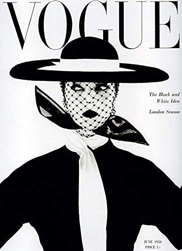 Theissen Vintage Vogue Magazine Cover Art Print Poster Wall Art Classic Fashion Beauty - Matte Poster Frameless Gift 11 x 17 inch(28cm x 43cm)*IT-00157