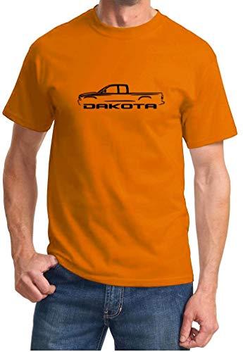 Jacen shop Dakota Pickup Truck Classic Outline Design - Camiseta, multicolor, M