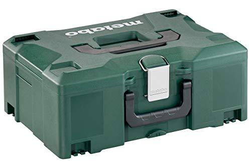 Metabo Metaloc II Werkzeugkoffer (ohne Inhalt, stapelbar, bruchsichere Box, zwei Tragegriffe, 396 x 296 x 157.5 mm) 626431000