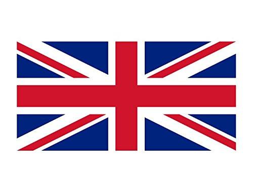 Queenshiny® Europa Länder Nationalflaggen Fahne/Flagge 90 x 150 cm (GB)