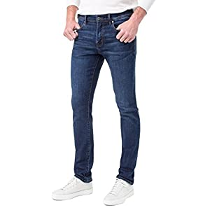 Men's Modern Slim Straight with Coolmax Jeans