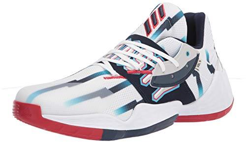 adidas Harden Vol. 4 GCA Shoes White/Collegiate Navy 11