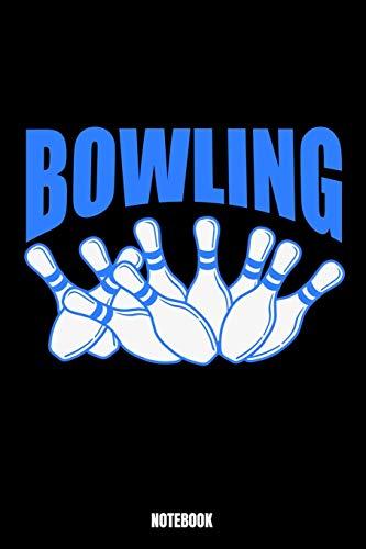 Bowling Notebook: Bowling Notizbuch: Notizbuch A5 karierte 110 Seiten, Notizheft / Tagebuch / Reise Journal, perfektes Geschenk für Sie,  Ihre Familie ... für Sportler. Dieses Notizbuch wird sicherli