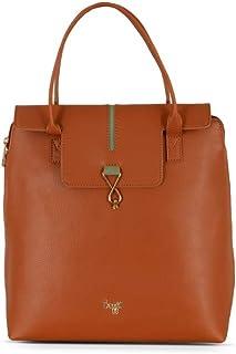 Baggit Women's Synthetic Handbag (Acity Y G Z)(Brown)