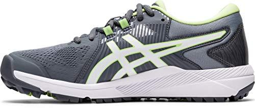 Asics Gel-Course Glide - Zapatos de golf para mujer, Gris (Metropolis/Blanco), 38.5 EU