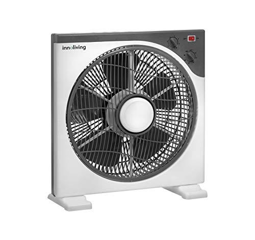 Innoliving Ventilatore Box Rotante Portatile 3 velocità INN-505