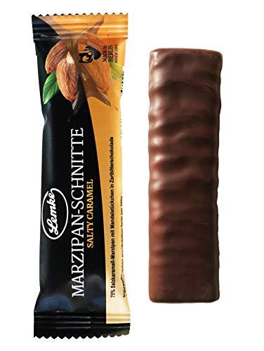 Lemke Marzipan-Schnitte Salty Caramel Tray 30x25g