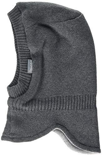 Sterntaler Baby-Jungen 4711400 Mütze, Grau (Anthrazit Melange 592), 45
