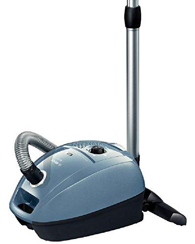 Bosch BGL3A122 Aspirapolvere a Carrello con Sacco, 600 W, 4 Litri, 79 Decibel, Blu