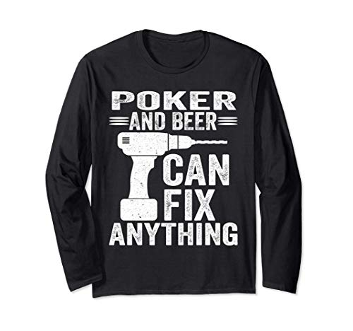 Poker And Beer Can Fix Anything Funny Manga Larga