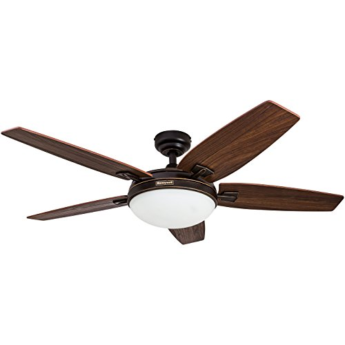 Honeywell Carmel 48-Inch Ceiling Fan with Integrated Light...