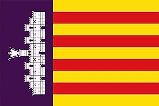 Gran Bandera de Mallorca 150 x 90 cm Durobol Flag