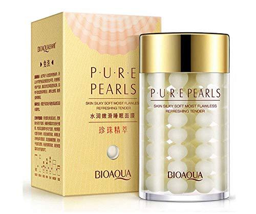 BIOAQUA Face Cream Pure Silk Pearl Essence Hyaluronic Acid Flawless Hydro-Lipid Balance Rejuvenation Moisturizing Refreshing 60g