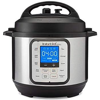 Instant Pot NOVA 3 Pressure Cooker 3-QT Stainless Steel/Black