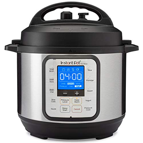 Image of the Instant Pot Duo Nova 7-in-1 Electric Pressure Cooker, Sterilizer, Slow Cooker, Rice Cooker, Steamer, Saute, Yogurt Maker, and Warmer, 3 Quart, Easy-Seal Lid, 12 One-Touch Programs