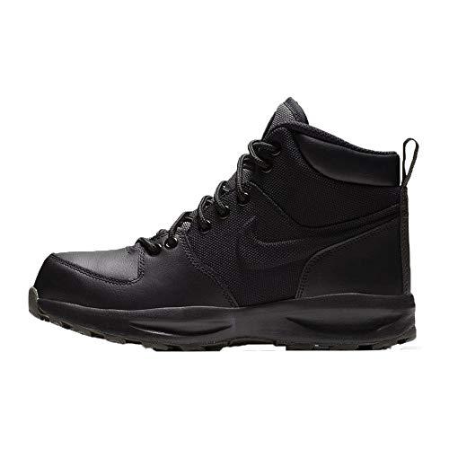 Nike Herren Manoa (gs) Trekking- & Wanderstiefel, Mehrfarbig (Black/Black/Newsprint 002), 39 EU
