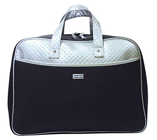 Handtas koffer Moederschap Baby Star zwart/zilver