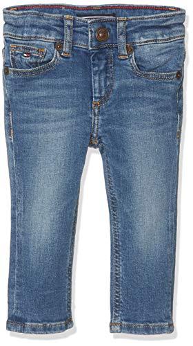Tommy Hilfiger Jungen Boys Scanton Slim Nyms Jeans, Blau (New York Mid Stretch 911), 164 (Herstellergröße: 14)