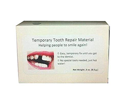 Temporary tooth repair kit temp dental fix missing for 30 teeth! Triple!