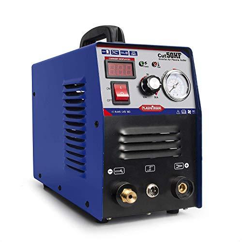 Cutter Plasma Cutter 50A HF Machine à découper 12 mm Coupe nette 220 V avec consommables