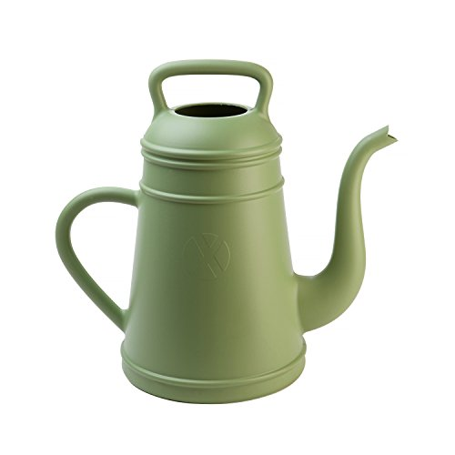 Gießkanne 'Lungo' Kunststoff grün Kaffeepott- Look Inhalt 12 Liter
