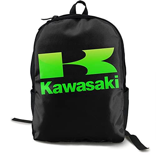 Kawasaki Rucksack Campus Schultasche Lässiger Rucksack Gym Travel Hiking Canvas Rucksack