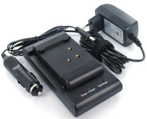 MobiloTec Ladegerät kompatibel mit Sharp BT-H21, Camcorder/Digitalkamera Netzteil/Ladegerät Stromversorgung