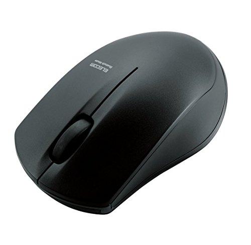 エレコム マウス Bluetooth (iOS対応) Sサイズ 小型 3ボタン IRセンサー 省電力 ブラック M-BT12BRBK