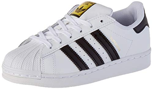 adidas Superstar C, Zapatillas Unisex Niños, FTWR White/Core Black/FTWR White, 35 EU