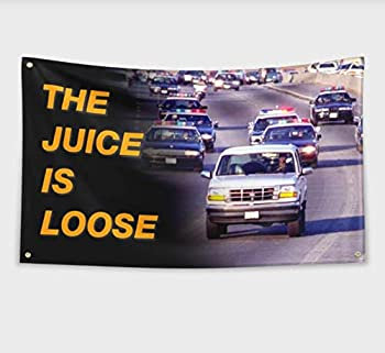 2but The Juice is Loose Banner Flag for College Dorm Frat or Man Cave Decor 3x5Feet