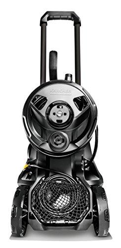 Kärcher Hochdruckreiniger K 4 Premium Full Control Home (Druck: 20-130 bar, Fördermenge: 420 l/h, Schlauchtrommel, Flächenreiniger T 350, Reinigungsmittel, 2x Strahlrohr, Power Pistole) - 4
