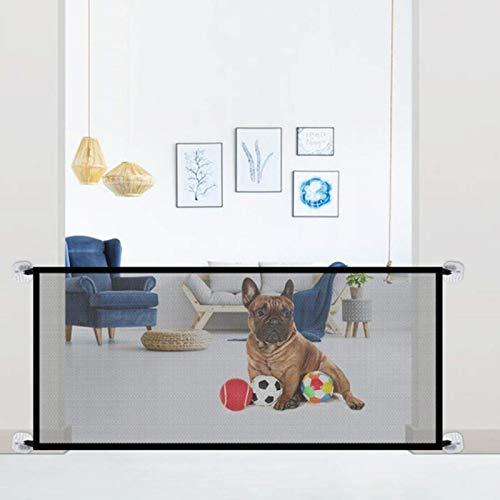 Ruilonghai Barreras para perros – Rejilla de protección portátil para perros y gatos – 180 × 72 cm / 70,87 × 28,35 pulgadas