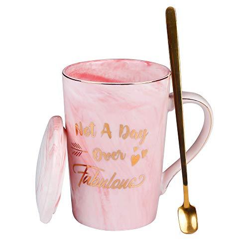 Spessn - Tazas de café personalizables (cerámica, 600 ml, caja de regalo)