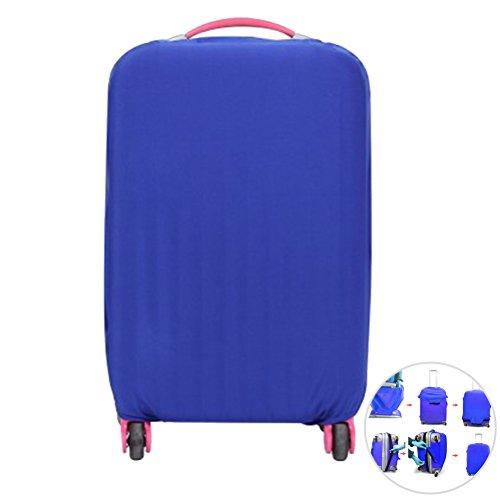 LIOOBO Maleta de Viaje de Viaje Cubierta de Maleta Maleta Trolley Protector a Prueba de Polvo para 26-30 Pulgadas (Azul)