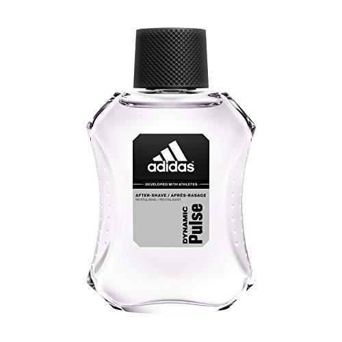 adidas Dynamic Pulse After Shave – Aromatisches Rasierwasser mit erfrischendem, verführerischem Herrenduft – Verleiht der Haut Frische & beruhigt sie schonend – 1 x 100 ml