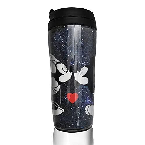 Star Mickey Minnie Mouse Cartoon Anime Coffee Cup Hombres Mujeres Aislamiento Agua Copa Viajes Oficina Obras al aire libre Novedad Regalo de cumpleaños 12 oz Capacidad