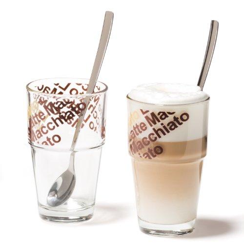 Leonardo 042553 Café Latte Set Solo 4-teilig