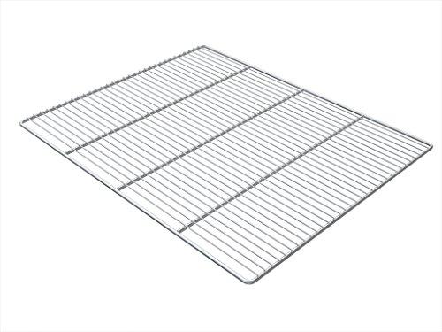 54x34 cm Grillrost aus Edelstahl rostfrei rechteckig Rost für Grillkamin