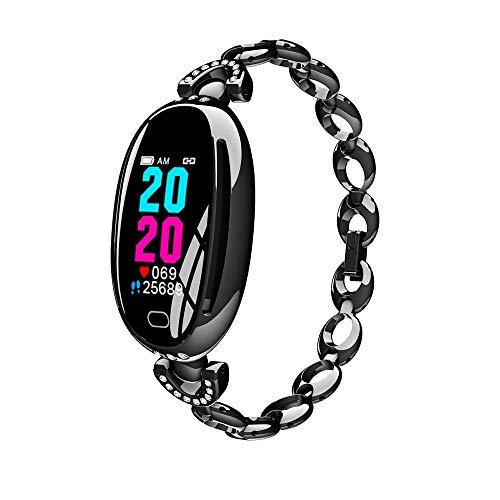 TZK Dames Smart Armband Horloge, met Bloeddruk Hartslagmeter, Slimme Polsband met Slaap/Stappen/Calorie Stappenteller