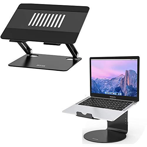 Besign LSX2 and LS08 Aluminum Laptop Stand, Ergonomic Computer Stand, Riser Holder Notebook Stand