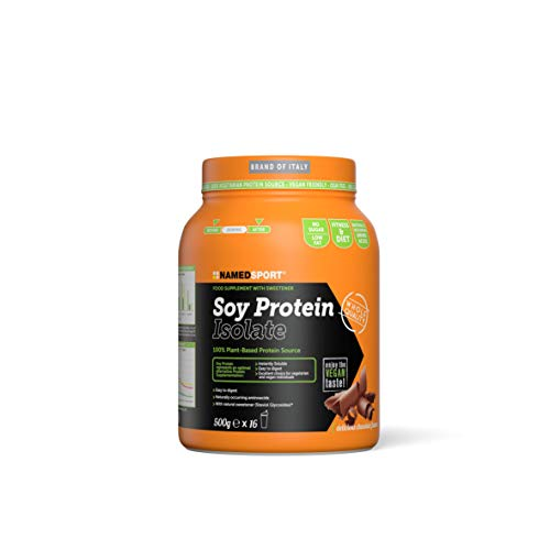 Named Sport Soy Protein Isolate Delicious Chocolate, 500 g