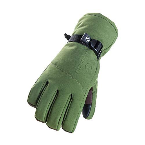YQRJYB Warme handschoenen voor heren en dames, voor buiten, winddicht, antislip, winter, thermisch, warm handschoenen, voor skiën, snowboarden, fietsen, klimmen