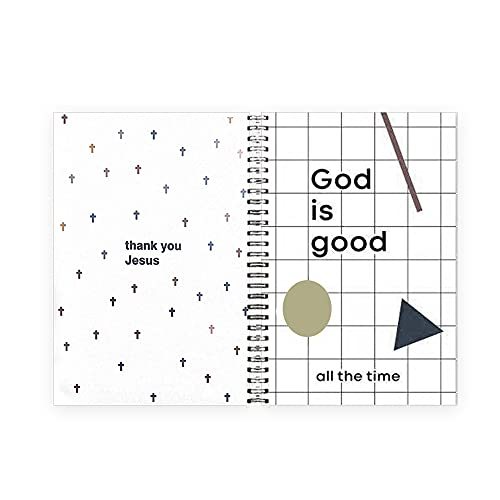 """Ruled Notebook/Journal - Lined Journal with Back Pocket and Hardcover, College Ruled Spiral Notebook/Journal, 8.4"""" x 6.3"""", Thick Paper, Strong Twin-Wire Binding, Perfect for School, Office & Home"""