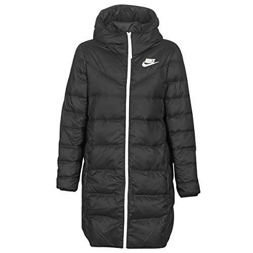 Nike Sportswear Windrunner Down Fill Parka, Damen L schwarz/schwarz/Segel
