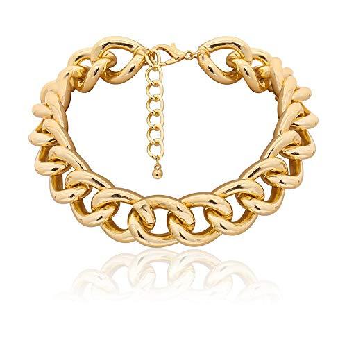 Collar Collar De Gargantilla De Perlas De Múltiples Capas Collar De Declaración Tallado Moneda De Aleación Concha Colgante Collar Mujer Joyería