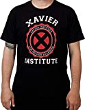 Photo de Marvel X-Men Xavier Institute For Higher Learning Mutatis Mutandis T-shirt pour adulte Noir Taille XL