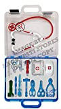 Zephyr medi Kid Medical kit Toy Game Kids Play Pretend to be a Doctor Children with Real Working Stethoscope